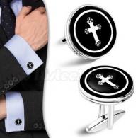 Запонки с Крестом