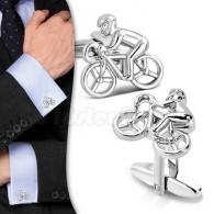 Запонки Велосипедист