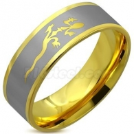 Кольцо с Ящерицей