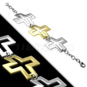 Браслет с Крестами