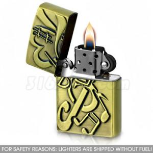 Зажигалка с Нотами