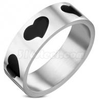 Кольцо с Сердцами