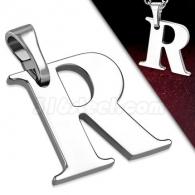 Кулон Буква R