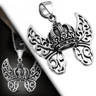 Кулон Королевская корона