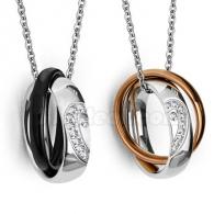 кулон кольца