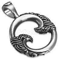 Кулон кольцо с узором