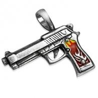 Кулон Пистолет