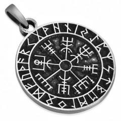 Кулон Рунический компас