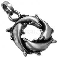 Кулон Дельфины