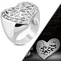 Кольцо с Сердцем