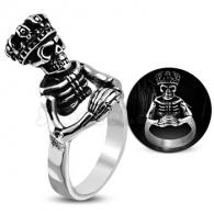 Кольцо со Скелетом
