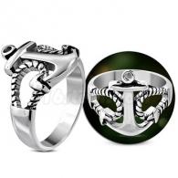 Кольцо с Якорем