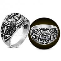 Кольцо с Лилией