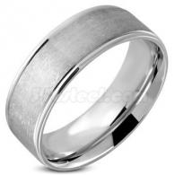 Кольцо из Стали Матовое