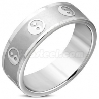 Кольцо Инь Янь