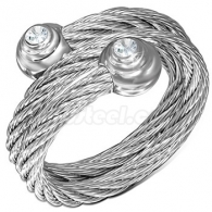 Кольцо из Стали Витое