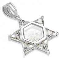 Кулон Звезда Давида