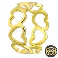 Кольцо с Сердечками