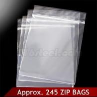 ZIP пакеты 245 шт.